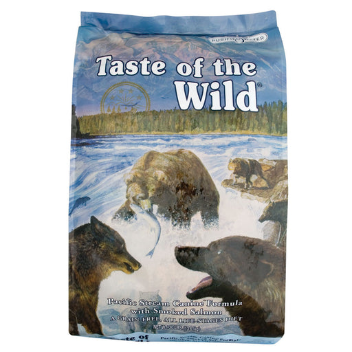 Taste of the Wild Pacific Stream Salmon Adult Dog Food 5 lbs