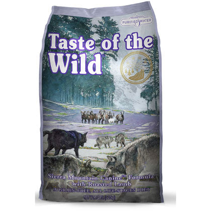 Taste of the Wild Sierra Mountain Lamb Dog Food 5 lbs