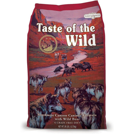 Taste of the Wild Southwest Canyon Dog Food 5 lbs