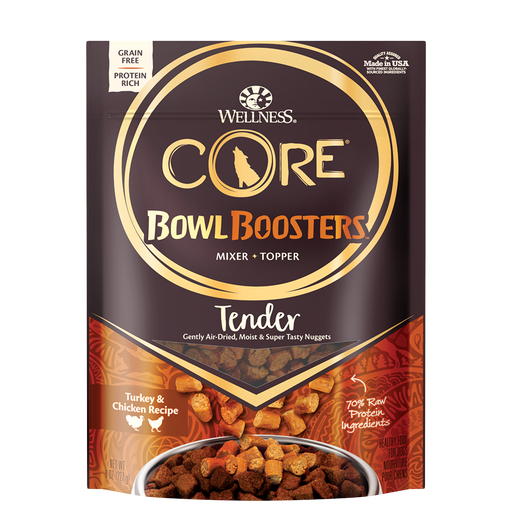 Wellness CORE Bowl Boosters Air-Dried Tender Turkey & Chicken 8 oz