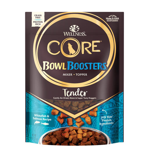 Wellness CORE Bowl Boosters Air-Dried Tender Whitefish & Salmon 8 oz