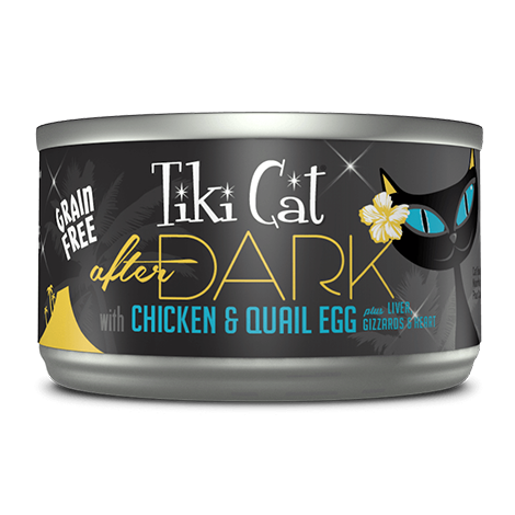Tiki Cat After Dark Grainfree Chicken and Quail 2.8 oz