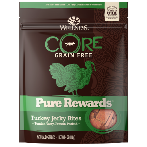 Wellness Core Natural Grain Free Turkey Treat 4 oz