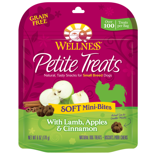 Wellness Petite Treats: Lamb/Apple/Cinnamon 6oz
