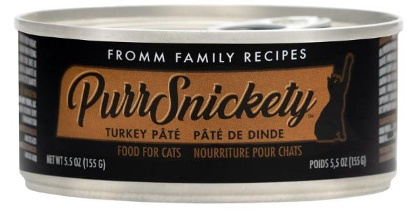 Fromm PurrSnickety Turkey Paté Wet Cat Food, 5.5 oz
