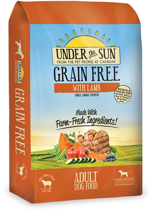 Canidae Under The Sun Grain Free Dog Food: Lamb 25 lbs