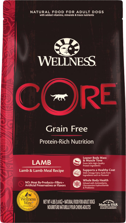 Wellness Core Canine Grain Free Lamb