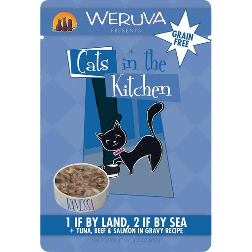 Weruva 1 By Land 2 By Sea 3 oz