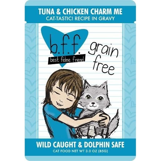 Weruva BFF Grain Free  Cat Food Charm Me Tuna & Chicken 3 oz
