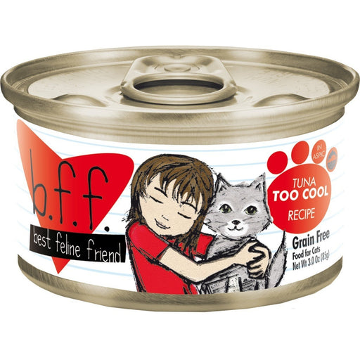 Weruva BFF Grain Free  Cat Food Tuna Too Cool 2.8 oz