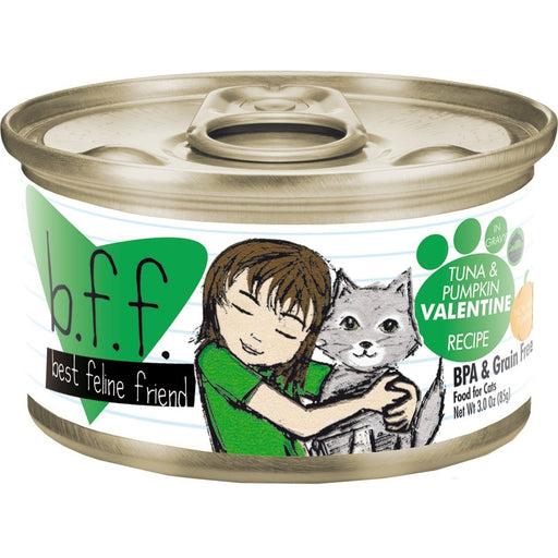 Weruva BFF Grain Free  Cat Food Valentine Tuna & Pumpkin 3 oz