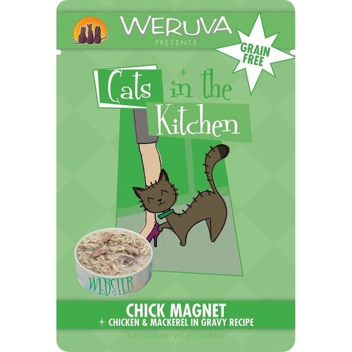 Weruva Chick Magnet Mackerel & Chicken 3 oz