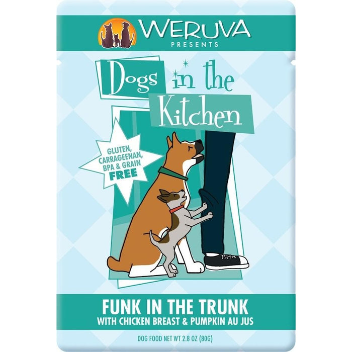 Weruva Funk in The Trunk Dog Food Chicken & Pumpkin 2.8 oz