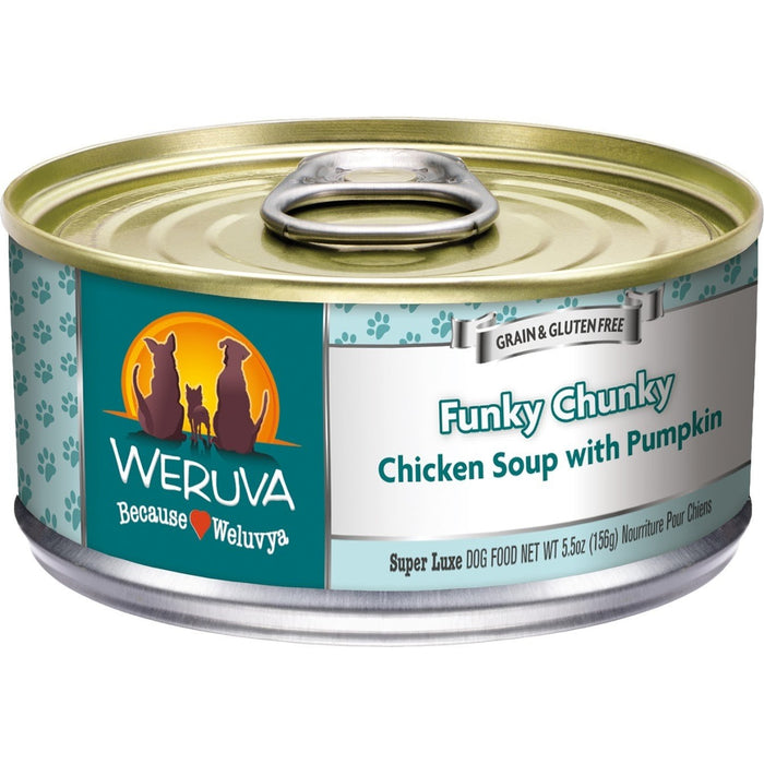 Weruva Funky Chunky Dog Food 5.5 oz