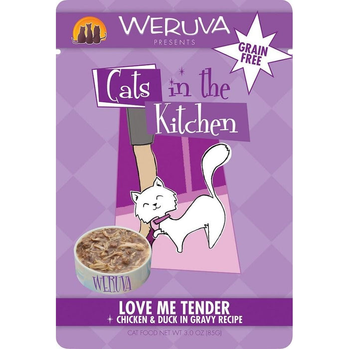 Weruva Love Me Tender Chicken & Duck 3 oz