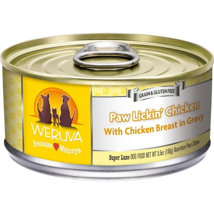 Weruva Paw Lickin Chicken Dog Food 14 oz