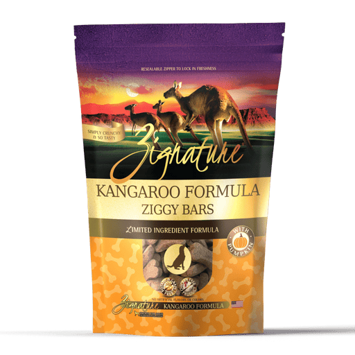 Zignature Ziggy Bars Treat, Kangaroo Formula, 12 oz