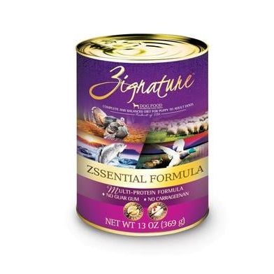 Zignatue Zssentials Multi-Protein Formula Dog Food 13 oz