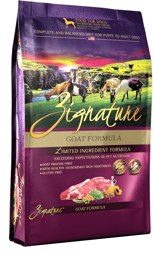 Zignature Goat Formula Dry Dog Food