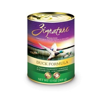 Zignature Limited Ingredient Dog Food: Duck 13 oz