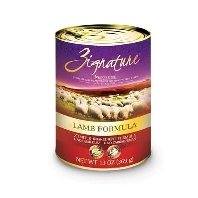 Zignature Limited Ingredient Dog Food: Lamb 13 oz