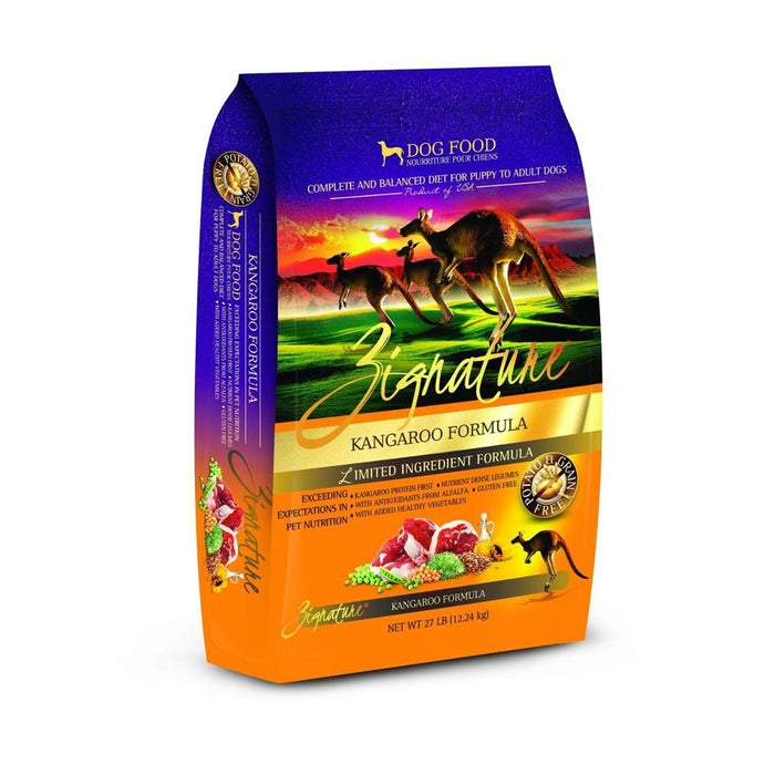 Zignature Limited Ingredient Dog Food: Kangaroo 4 lbs