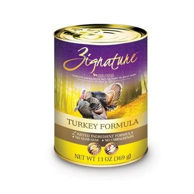 Zignature Limited Ingredient Dog Food: Turkey 13 oz