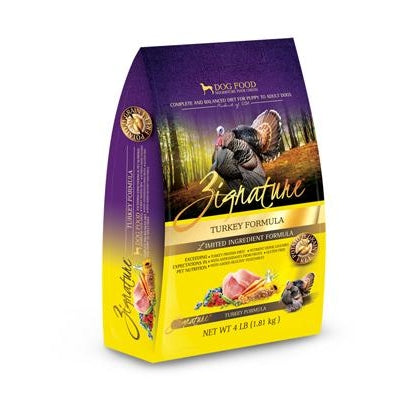 Zignature Limited Ingredient Dog Food: Turkey 4 lbs