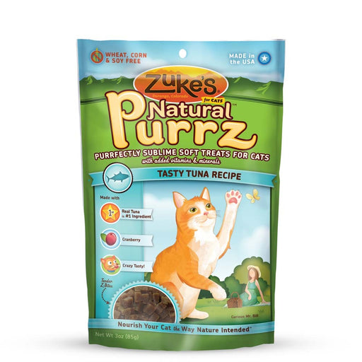 Zukes Natural Purrz: Tuna 3 oz