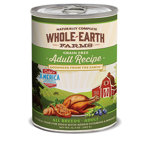 Merrick Whole Earth Farms Adult Dog Food 12.7 oz