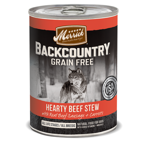 Merrick Backcountry Hearty Beef Stew 12.7 oz