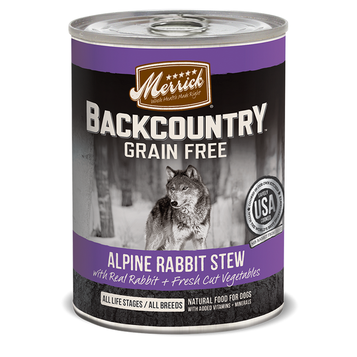 Merrick Backcountry Alpine Rabbit  Stew 12.7 oz