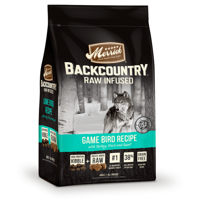 Merrick Backcountry Gamebird  4 lb