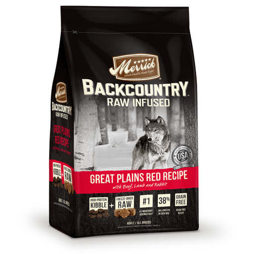 Merrick Backcountry Great Plains Red Recipe Dog Food