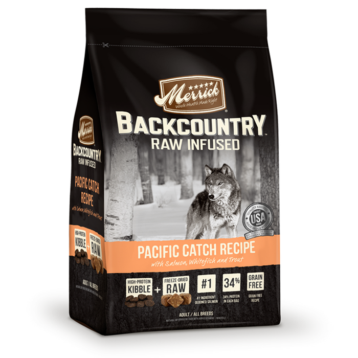 Backcountry Great Plains Pacific Catch Dog Food 12 lbs