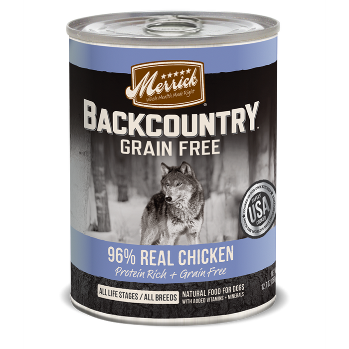 Merrick Backcountry 96% Chicken 12.7 oz