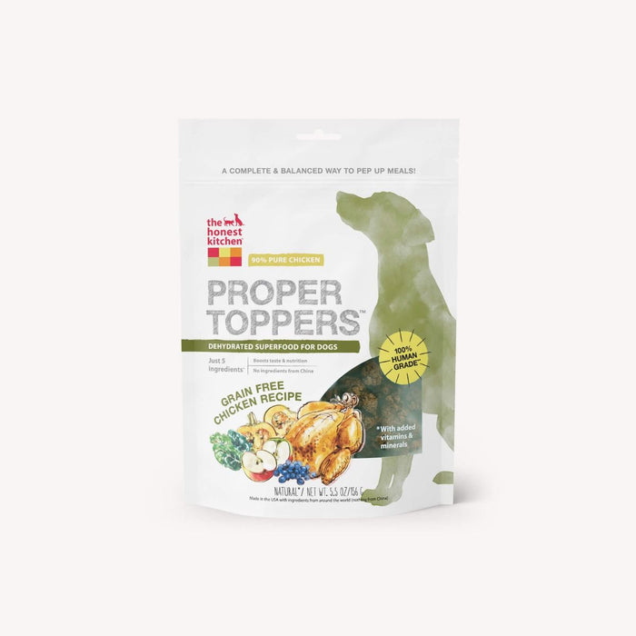 The Honest Kitchen Chicken Proper Toppers 5.5 oz pouch