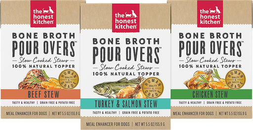 The Honest Kitchen Bone Broth Pour Overs, 5.5 oz