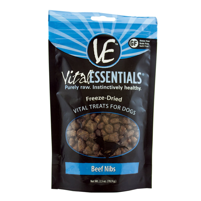 Vital Essentials Freeze-Dried Beef Nibs Treat