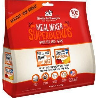 Stella & Chewy's Superblend Meal Mixers Beef 3.25 oz
