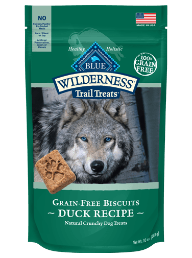 Blue Buffalo Wilderness Duck Biscuits 10 oz