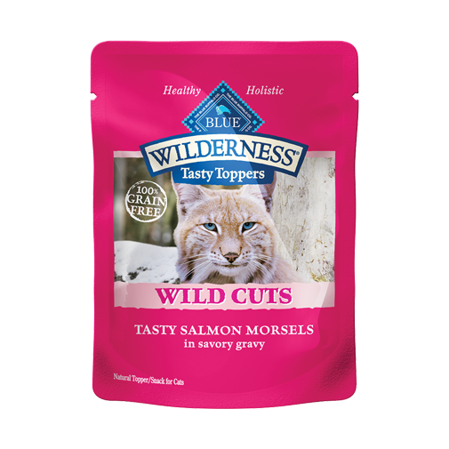 Blue Buffalo Wilderness Tasty Gravy Recipe Cat Food:  Salmon 3 oz