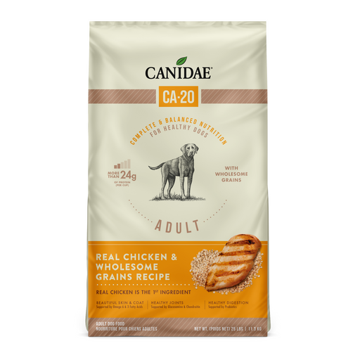 Canidae CA-20 Real Chicken & Wholesome Grain Dry Dog Food