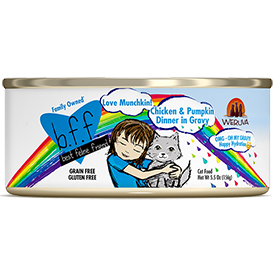 Weruva BFF Love Munchkin Chicken and Pumpkin 5.5 oz Can Cat Food