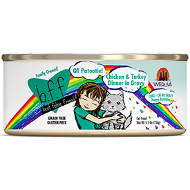 Weruva BFF QT Patootie Chicken and Turkey 5.5 oz Can Cat Food