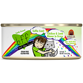 Weruva BFF Selfie Cam Chicken and Lamb 5.5 oz Can Cat Food