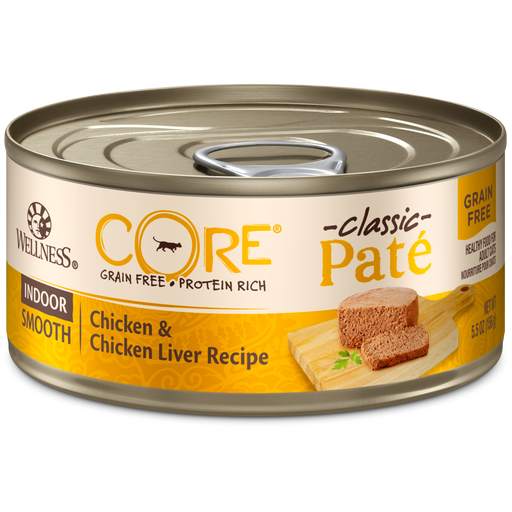 Wellness Core Grain Free Feline Indoor Chicken/Chicken Liver Pate 3oz
