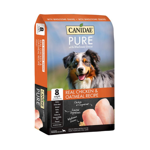 Canidae Pure with Wholesome Grains Real Chicken & Oatmeal Recipe Dry Dog Food