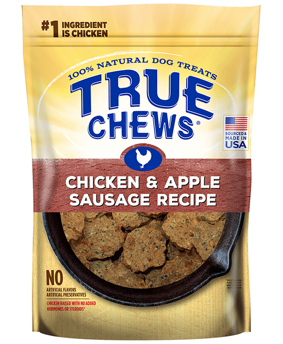 Tyson True Chews Chicken and Apple Griller Dog Treat 12 oz Pouch