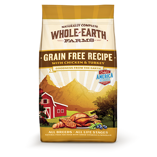 Merrick Whole Earth Farms Grain Free Chicken & Turkey
